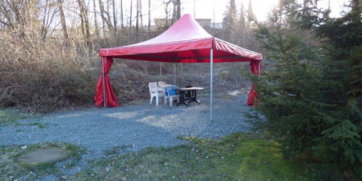 Grillpavillon für 30 – 40 Personen