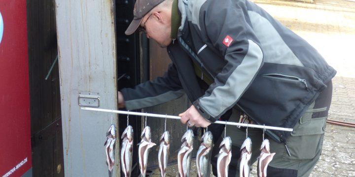Zubereitung von Räucherfisch