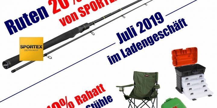 Juli-Aktionen bei Fjordfish in Zschopau