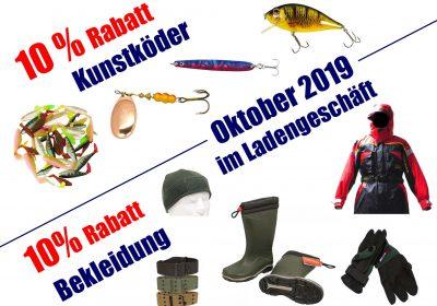 Oktober-Aktionen bei Fjordfish in Zschopau