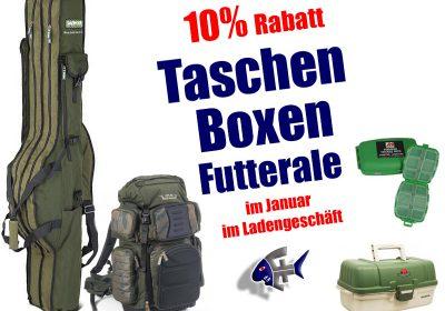 Rabatt bei Fjordfish: 10% auf Boxen, Taschen, Futterale
