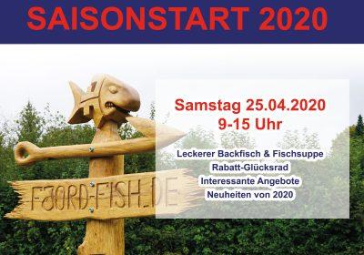 Saisonstart 2020 – Fjordfish.de